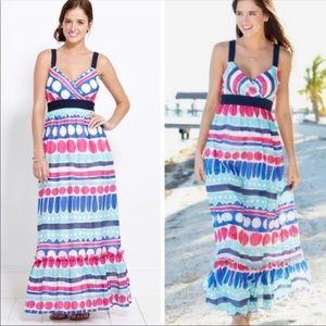 Vineyard Vibes Carolina Stripe Maxi Dress 2